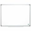 Bi-Office Earth Whiteboard 1200x900 Non-Magnetic MA0500790 | Best performance dry erase surface ideal for normal use | Fusion Office UK