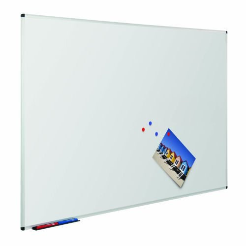 WriteOn 1800x1200 Magnetic Whiteboard Metroplan 49664   Superior coated steel writing surface that also accepts magnets   Fusion Office UK