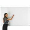 Adboards WCMG-0906-98 Dry Wipe Board 900x600mm Magnetic Coated Steel   5 Year Guarantee   Magnetic   Made in the UK   Fusion Office UK