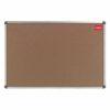 Nobo Cork Noticeboard 1800x1200mm Aluminium Frame 36739002   Self-healing cork surface   Anodised frame   10 year guarantee   Fusion Office