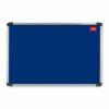 Nobo Prestige Noticeboard 1500x1000mm Blue 30234148 | High quality anodised aluminium trim | Lifetime guarantee | Fusion Office UK