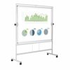 Bi-Office Revolver Plus 1200x1500 Magnetic Mobile Board 1200x1500 QR3403 | Sturdy frame with robust & stable structure | Fusion Office UK