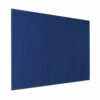 Resist-a-Flame Frameless Noticeboard 1200x900 Blue Metroplan UFB43/BL   With both fire-resistant & acoustic properties   Fusion Office UK