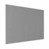 Resist-a-Flame Frameless Noticeboard 1200x900 Grey Metroplan UFB43/GY   With both fire-resistant & acoustic properties   Fusion Office UK
