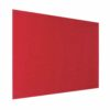 Resist-a-Flame Frameless Noticeboard 1200x900 Red Metroplan UFB43/RD   With both fire-resistant & acoustic properties   Fusion Office UK