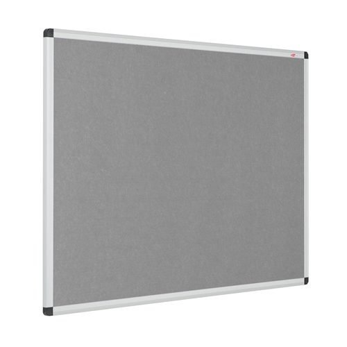 Resist-a-Flame Noticeboard 1200x900 Grey Eco-Colour Metroplan 22643/GY   Fire Resistant and with Acoustic Properties   Fusion Office UK