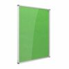 Resist-a-Flame Lockable Noticeboard 900x600 Green Metroplan CBT32/GR | designed to protect the information on display | Fusion Office UK