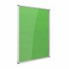 Resist-a-Flame Lockable Noticeboard 2400x1200 Green Metroplan CBT84/GR   designed to protect the information on display   Fusion Office UK