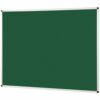 Metroplan Noticeboard 1200x900mm Green 44543/GR   Quality Noticeboard   Accepts Velcro® and pins   Fusion Office UK