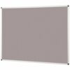 Metroplan Noticeboard 1200x1200mm Grey 44544/LG | Quality Noticeboard | Accepts Velcro® and pins | Fusion Office UK