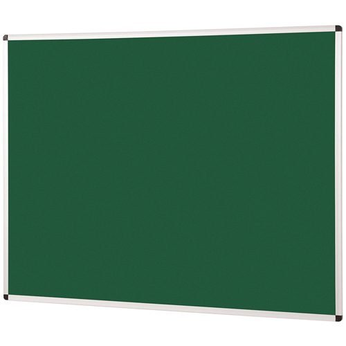 Metroplan Noticeboard 1200x1200mm Green 44544/GR | Quality Noticeboard | Accepts Velcro® and pins | Fusion Office UK