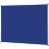 Metroplan Noticeboard 2400x1200mm Blue 44584/DB   Quality Noticeboard   Accepts Velcro® and pins   Fusion Office UK