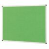 ColourPlus Noticeboard 900x600mm Apple Green Metroplan PS9060/AG | Bright contemporary coloured fabric noticeboard | Fusion Office UK