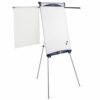 Nobo Classic Nano Tripod with Arms Easel 1901918 | Steel magnetic whiteboard | Height adjustable | 15 year surface guarantee | Fusion Office