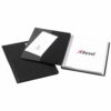 Rexel Nyrex Slimview Display Book 24 Pockets Black 10015BK | Organise, protect & store all-in-one | Professional A4 rigid | Fusion Office UK