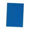 Binding Covers Blue A4 Leather Look [Pack 100] | Textured leather look to provide a stylish finish | Fusion Office