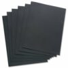 Binding Covers Black A4 Leather Look [Pack 100]   Textured leather look to provide a stylish finish   Fusion Office