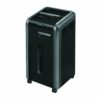 Fellowes Powershred 225Ci Cross-Cut P-4 Shredder 4622001 | Shreds 22-24 sheets per pass into 4 x 38mm (Security Level P-4) | Fusion Office
