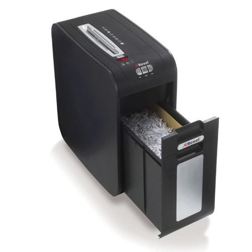 Rexel Mercury RSS2232 Strip Cut P2 Shredder 2102463   Shreds up to 22 sheets in a pass   P-2 (5.8mm)   Fusion Office UK