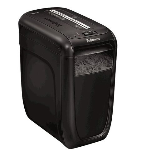 Fellowes Powershred 60Cs Cross-Cut P-4 Shredder 4606201   Shreds 10 sheets into 4x40mm particles (Security Level P-4)   Fusion Office