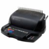 GBC CombBind C210E Comb Binding Machine 4401927UK   Ideal for medium volume, shared use   Binds up to 450 sheets   Fusion Office UK