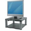 Fellowes Premium Monitor Riser Graphite 9169401   5 stacking height adjustments maximise viewing comfort   Fusion Office