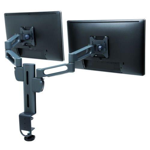 Kensington Smartfit Dual Monitor Arm K60273WW | SmartFit System allows 4 height regions for optimal ergonomics | Fusion Office UK