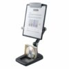 Fellowes Flex Arm Weighted Base Copy Holder 9169801   Flexible Arm adjusts for ergonomically correct viewing height and angle   Fusion Office