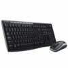 Logitech MK270 Wireless Combo Keyboard and Mouse Set 920-004523 | Long range wireless | Long battery life | Fusion Office UK