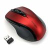 Kensington Pro Fit Wireless Mouse Ruby Red K72422WW   Compact size for travel convenience   Fusion Office UK