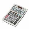 Casio Desk Calculator MS-120BM 12 Digits   3 Key Memory Battery/Solar Power   Large + key   Tax calculations   Fusion Office UK
