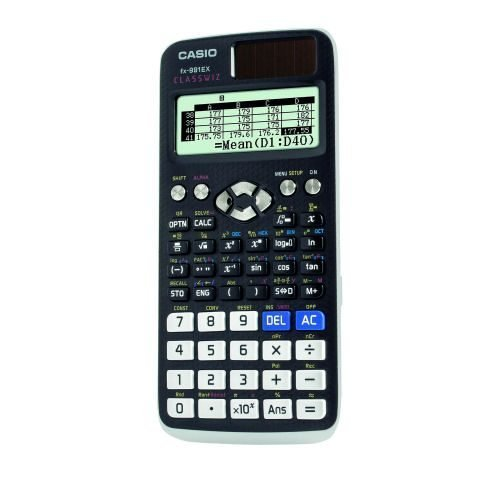 Casio Scientific Calculator fx-991EX   Allows the user to perform basic spreadsheet calculations on a calculator   Fusion Office UK
