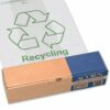 Acorn Green Bin Liners 60 Litres 402573 [Pack 50] | For use with the Acorn Green Bin | Capacity 60 litres | Fusion Office UK
