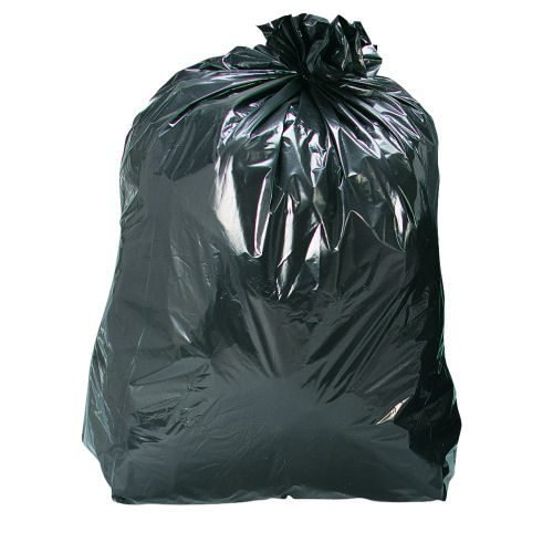 Heavy Duty Waste Sacks [Pack 200] | Strong, versatile & durable | Also known as Bin Liners & Refuse Sacks | Fusion Office