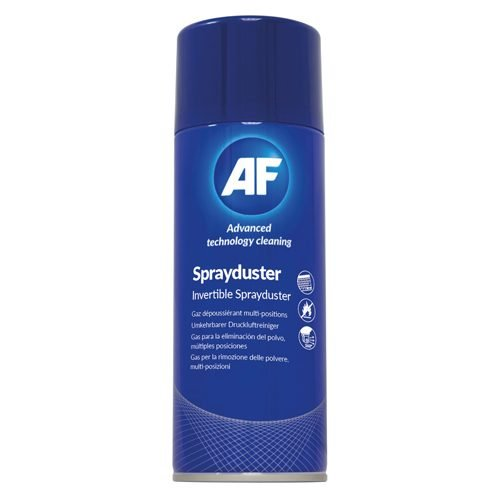 AF Sprayduster Invertible 125ml SDU125D | Non flammable | Alcohol free | Can be used at any angle | Control strength of blast | Fusion Office