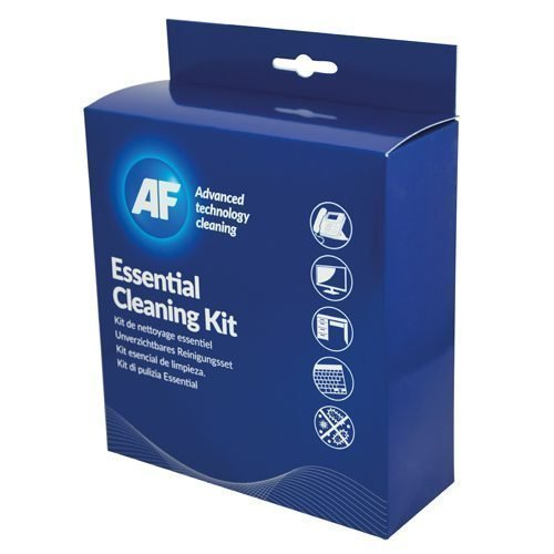 AF Essential Cleaning Kit ECK001   Cleaning maintenance products for many work stations   Fusion Office