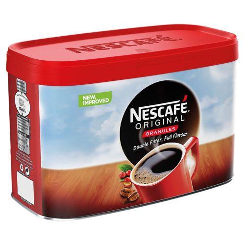Nescafe Original Coffee Granules 500g | The signature coffee from Nescafe combines medium-roast Arabica & Robusta beans | Fusion Office UK