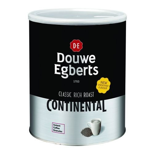 Douwe Egberts Continental Coffee Rich Roast 750g | Offers superb value for money | A powerful rich coffee experience | Fusion Office