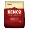 Kenco Smooth Refill Instant Coffee 650g | Ecological pack for refilling | A smooth full flavoured coffee experience | Fusion Office
