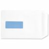 Pocket Envelopes C5 Window White Peel&Seal 100gsm [Pack 250]     Ideal for posting A5 148x210mm documents   Fusion Office