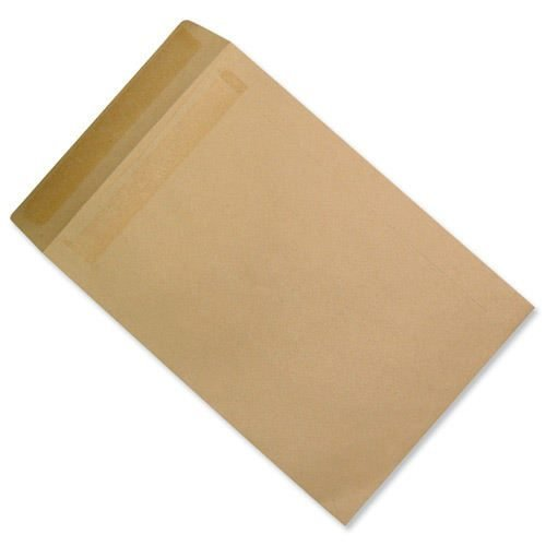 Pocket Envelopes 381x254mm Manilla Self Seal 90gsm [Pack 250]   15x10 Inches   FSC Certified   100% Recycled   Fusion Office