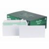 Basildon Bond Envelopes DL Wallet Plain White C80116 [Pack 500] | Made from paper certified as FSC Recycled | Fusion Office UK