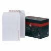 Plus Fabric White Board Backed Envelopes 324x229mm C4 [125] K29470 | For sending items which need to remain flat | Fusion Office