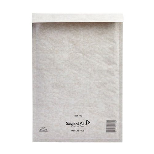 Mail Lite White F/3 Bubble Bag Lined Envelopes 220x330 [Pack 50] MLW3 | Fusion Office