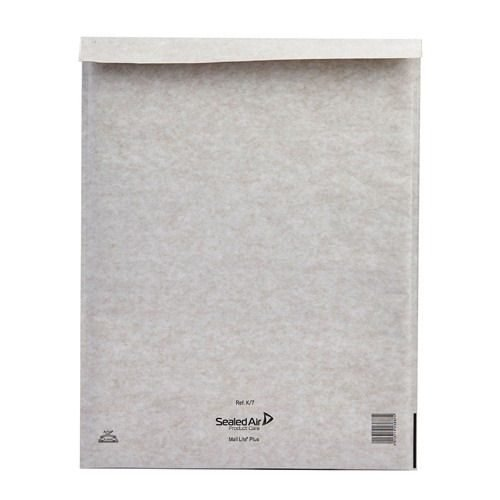 Mail Lite White K/7 Bubble Bag Lined Envelopes 350x470 [Pack 50] MLW7 | Fusion Office