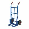 Barton Toptruck Heavy Duty Sack Truck Pneumatic Tyre SHDSB | Robust fully welded steel sack truck with pneumatic tyres | Fusion Office UK