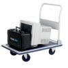 Barton Toptruck Folding Flatbed Trolley PFBT300 | Sturdy highly manoeuvrable steel trolley for transporting various items | Fusion Office UK