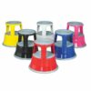 Topstep Mobile Steel Kick Step Stool Red T1RED
