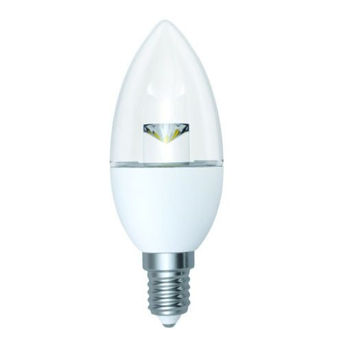 Dimmable Candle LED Lamp 5W E14 DIMC5SESWW/C | Fusion Office