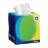 Kleenex Balsam Tissues Cube [Pack 12] | For when you want more softness, a protective balm helps soothe you & your nose | Fusion Office UK